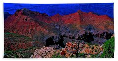 Grand Canyon Beauty Exposed Beach Towel