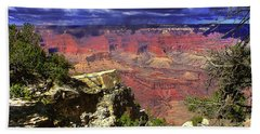 Grand Canyon Beach Towel by Craig T Burgwardt