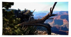 Beach Sheet featuring the photograph Grand Canyon Dead Tree by Matt Harang