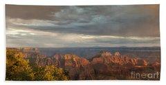 Grand Canyon North Rim Sunset Beach Towel