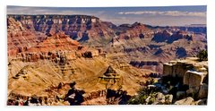Grand Canyon Painting Beach Towel