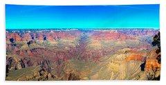 Grand Canyon Panorama Beach Towel