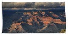 Grand Canyon View Beach Towel