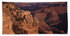 Beach Sheet featuring the photograph Grand Canyon Sunrise by Liz Leyden