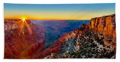 Grand Canyon Sunset Beach Sheet