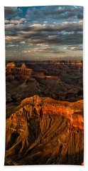 Grand Canyon Sunset Beach Sheet by Cat Connor