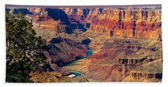 Grand Canyon Sunset Beach Towel by Robert Bales