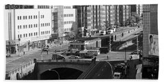 Grand Concourse Bronx Beach Towel