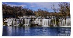 Grand Falls In Joplin Missouri Beach Towel
