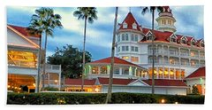 Grand Floridian Resort Walt Disney World Beach Towel by Thomas Woolworth