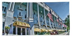 Grand Hotel - Image 001 Beach Towel
