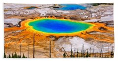 Grand Prismatic Spring Limited Edition Beach Towel