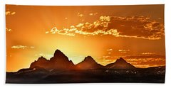 Grand Teton Sunrise Beach Sheet