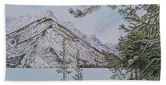 Grand Teton View Beach Sheet