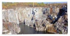 Granite Quarry, Barre, Vermont Beach Towel