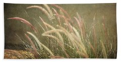 Grasses In Beauty Beach Towel