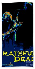 Beach Towel featuring the photograph Grateful Dead - In Concert by Susan Carella