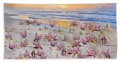 Grateful Holiday Beach Towel by Betsy Knapp