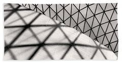 Great Court Abstract Beach Towel