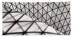 Beach Towel featuring the photograph Great Court Abstract by Rona Black