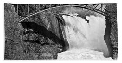 Great Falls In Paterson Nj Beach Towel