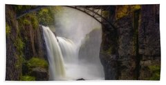 Great Falls Mist Beach Towel
