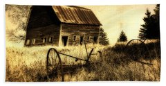 Great Grandfather's Barn II Beach Towel
