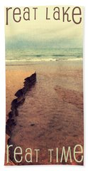 Great Lakes Great Times Beach Towel