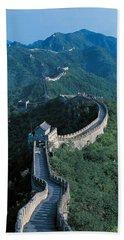 Great Wall Of China Beijing China Beach Towel