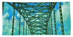 Green Bridge Beach Towel
