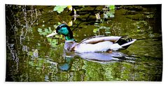 Green Head Mallard Beach Sheet