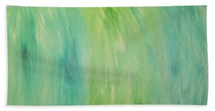 Green Shades Beach Towel