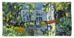 Green Township Mill House Beach Towel