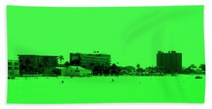 Green View. Special... Beach Towel by Oksana Semenchenko