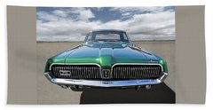 Green With Envy - 68 Mercury Beach Towel