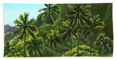 Greens Of Kahana Beach Towel