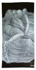 Greyish Revelation Beach Towel