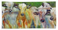 The Gathering, Cattle   Beach Towel