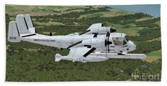 Grumman Ov-1 Mohawk Beach Sheet