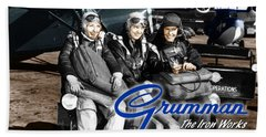 Grumman Test Pilots Beach Towel
