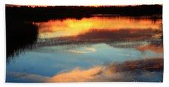 Guana River Sunset Beach Towel