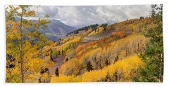 Guardsman Pass Aspen - Big Cottonwood Canyon - Utah Beach Towel