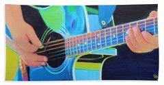 Guitar Man Beach Sheet