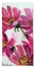 Gull Lake's Flowers Beach Towel