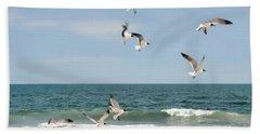 Gulls A Dance'n Beach Sheet