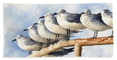Gulls Beach Towel