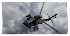 Gunship  Beach Towel
