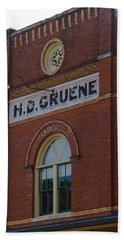 H D Gruene Beach Towel