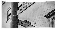 Haight And Ashbury Beach Sheet