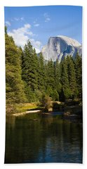 Half Dome Yosemite National Park Beach Towel